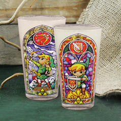 The Legend of Zelda Link Glass