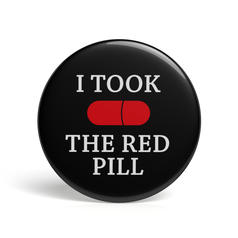 Geek Pin I Took The Red Pill
