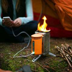 CampStove Outdoor Camping Stove with USB Charger