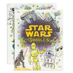 Star Wars Doodles Colouring Book