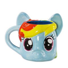 My Little Pony Rainbow Dash 3D Mug