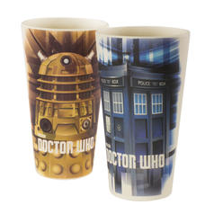 Doctor Who Bamboo Tumblers