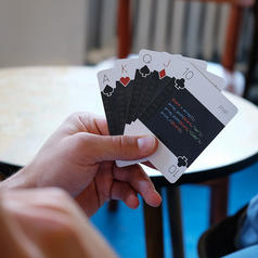 Programming languages card game code:deck