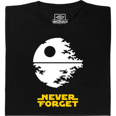 Never Forget Death Star T-Shirt