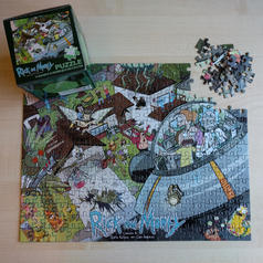 Rick and Morty Jigsaw Puzzle