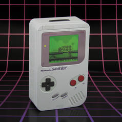 Salvadanaio Nintendo Game Boy
