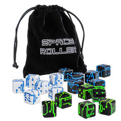 Space Roller - 6 dadi fantascientifici