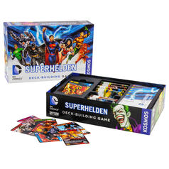 DC Comics Superhelden Deck-Building Spiel