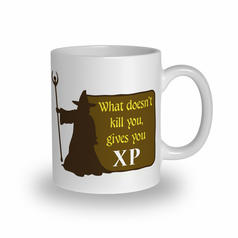 What Doesn't Kill You Gives You XP Mug