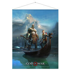 Gaming Wall Scroll God of War