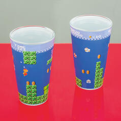Nintendo Super Mario Underwater Level Glass