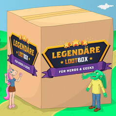 Legendäre Lootbox Rick and Morty