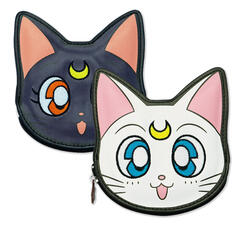 Sailor Moon Coin Purse Luna & Artemis