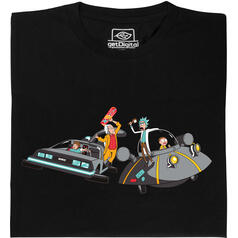 Rick contro Doc Brown  T-Shirt