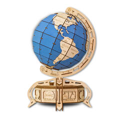 Eco-Wood-Art Construction Kit Globe