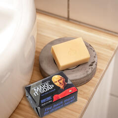Make it soap - Earl Grey Scented Star Trek Soap