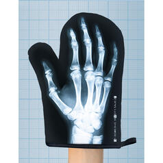 X-Ray Image Oven Glove