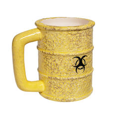 Biohazard Toxic Waste Barrel 3D Mug