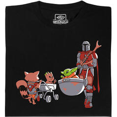 Baby Yoda vs Baby Groot T-Shirt