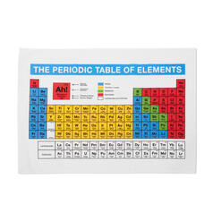 Dish Cloth Periodic Table