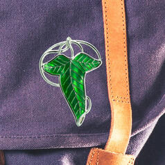 The Lord of the Rings Lórien Leaf Pin