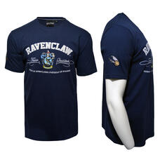 Harry Potter Quidditch T-Shirt Team Ravenclaw Embroidery