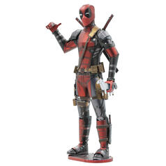 Kit di Metal Earth per costruire un modellino 3D di Deadpool Marvel