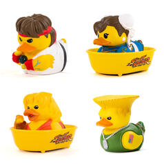 Street Fighter TUBBZ Cosplay Rubber Ducks