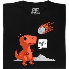 Carta Forbici...Asteroide T-Shirt